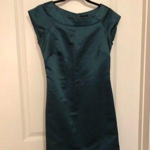 Max and Cleo Emerald Shift Dress